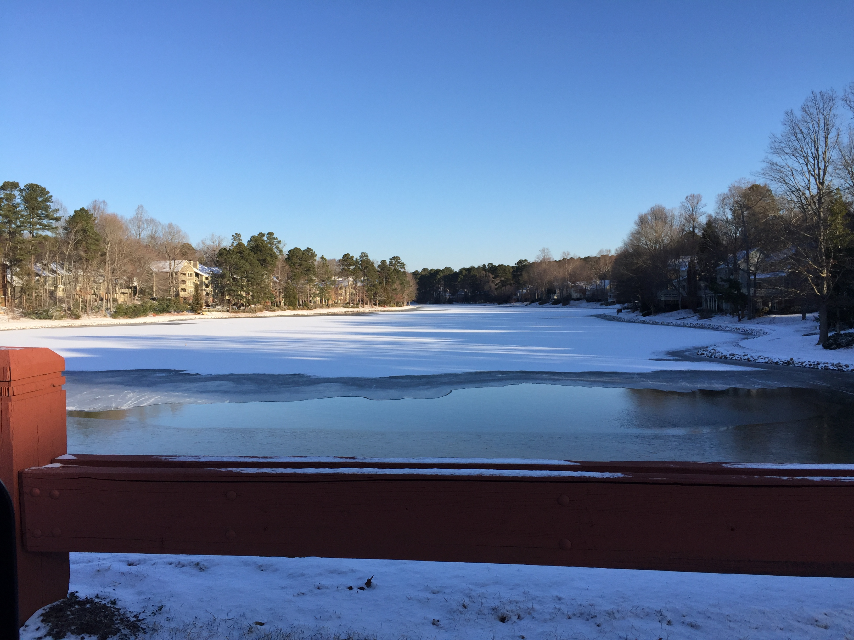 Be Safe -- Do Not Venture On Frozen Lakes & Ponds