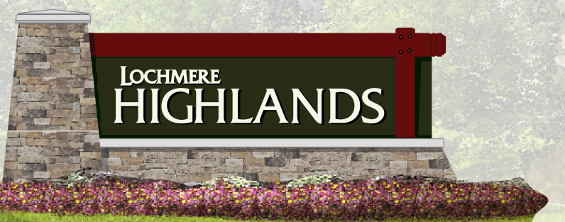 Highlands Entrance Sign Update
