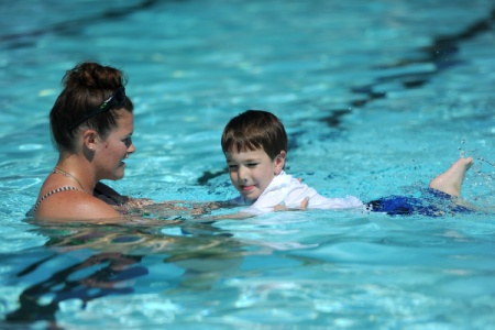 Private Swim Lessons At Lochmere